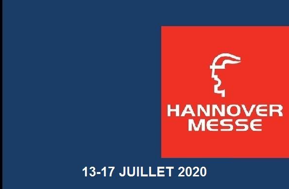 NOUS SOMMES À LA SALLE HANNOVER MESSE 2020